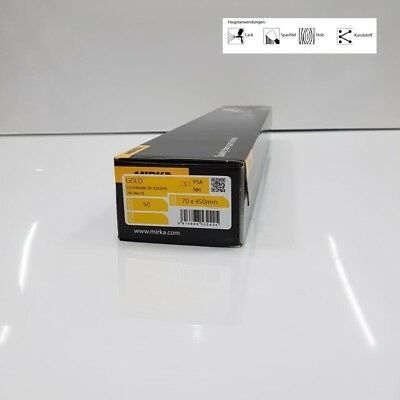 """240 grit 10 self adhesive Sandpaper Strips for 16/"""" Levelling Beam"""