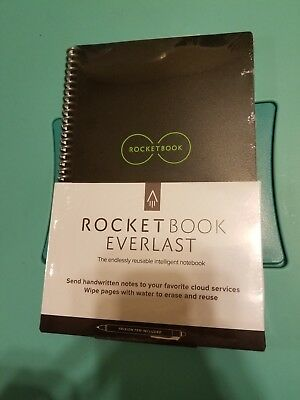 "Rocketbook Everlast Smart Notebook EVR-E-R, Executive (6""x8.8"")"