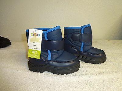 Toddler Little Boys Size 9 Rubber  Sole Winter Snow Boots New,FREE SHIPPING.