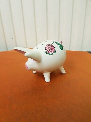 Plichta London Pottery Pig Pin Holder
