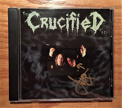 The Crucified - S/T (Signed by drummer Jim Chaffin of Deliverance) Tooth & Nail