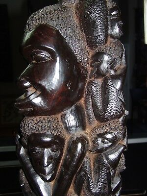 Old Makonde ebony carving.