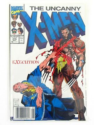 The Uncanny X-MEN Execution #276 May 1991 Marvel Comic Bagged and Boarded