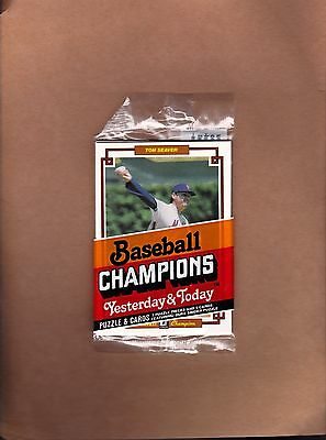 1984 Donruss Champion unopened pack with Tom Seaver on top