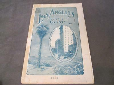 1904 LOS ANGELES CITY & COUNTY CHAMBER OF COMMERCE Booklet ch4