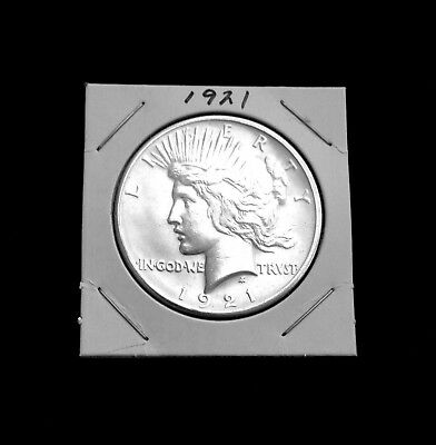 1921 Peace Dollar - High Relief ~ Avidly Pursued Key Date ~ Choice
