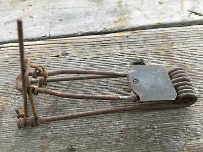 Antique Vintage Wire Primitive Mousetrap