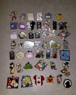 DISNEY PINS lot of 46 pins Free Shipping 100% tradable some duplicates