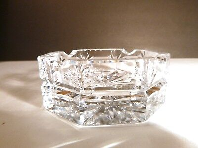 """*VINTAGE* Waterford Crystal ASH TRAY 3 1/2"""" Made in Ireland"""