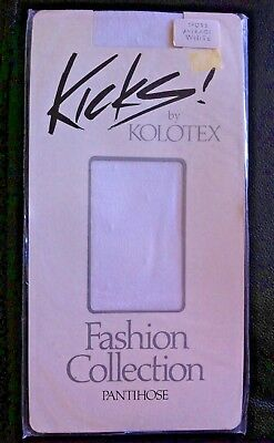 Kolotex Kicks Pantyhose Spots White Average Fashion Collection