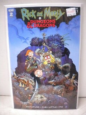 Rick And Morty Vs Dungeons & Dragons #2 Variant 1:20
