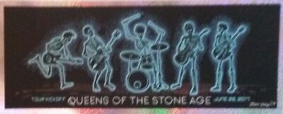 Queens of the Stone Age | Art by EMEK | Orig. 2017 Promo Card