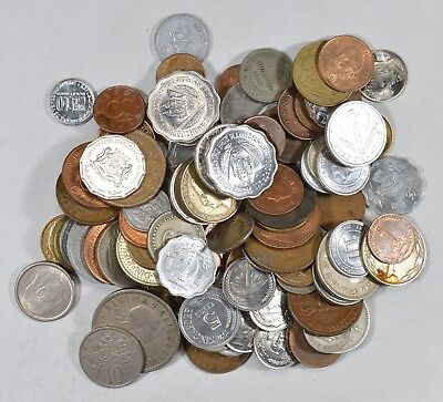Roughly a POUND of Mixed World Coins - Great Mix *184