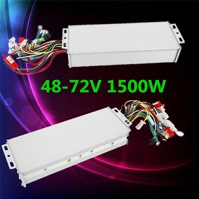 Electric Bicycle E-bike Scooter Brushless DC Motor Speed Controller 48-72V 1500W