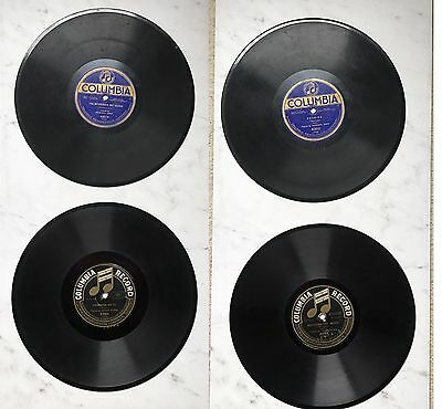 Olsen-Holt Quartet, HOWARD KOPP Messenger Boy Roman Gosz 78 RPM Lot Of 5 Records