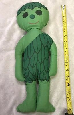 "Vintage Jolly Green Giant 14"" Doll Advertising Plush Figure 60's vintage old vtg"