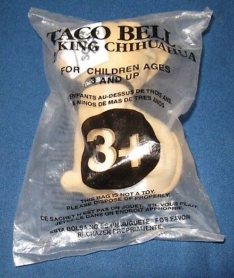 TACO BELL Talking Chihuahua - Still Works - Unsealed Packaging