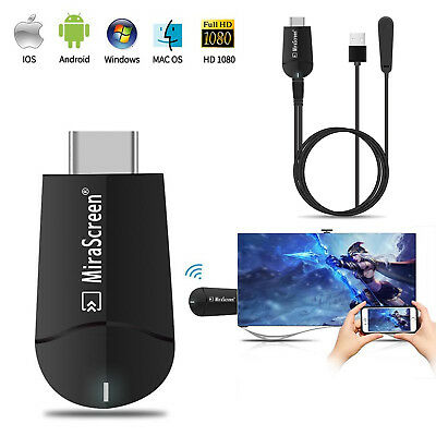 MiraScreen 4K HD Wireless WiFi  HDMI Dongle Receiver TV Stick 2.4G/5G Miracast