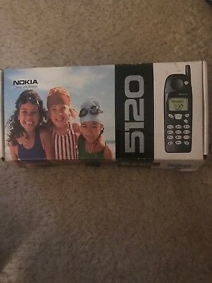 Nokia 5120 In Box (Vintage Collectors Item)