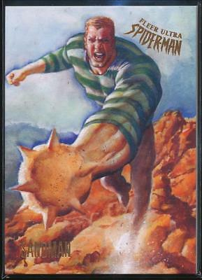 2017 Fleer Ultra Spider-Man Trading Card #14 Sandman