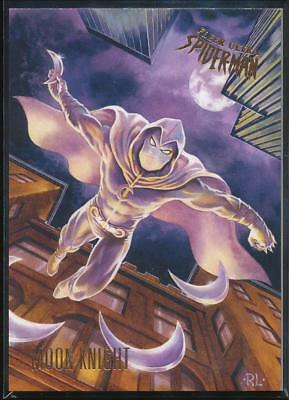 2017 Fleer Ultra Spider-Man Trading Card #17 Moon Knight