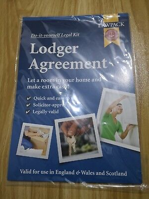 Do It Yourself Legal Kit Lodger Agreement