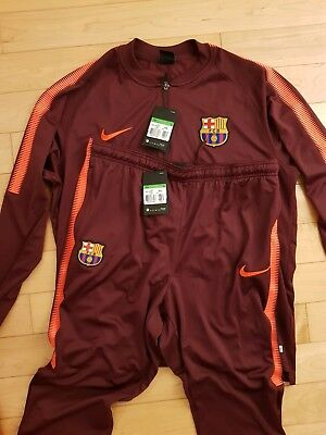 Fc Barcelona Trainingsanzug Gr Xl Neu Barca Fussball Trikot Nike Air Fitness max