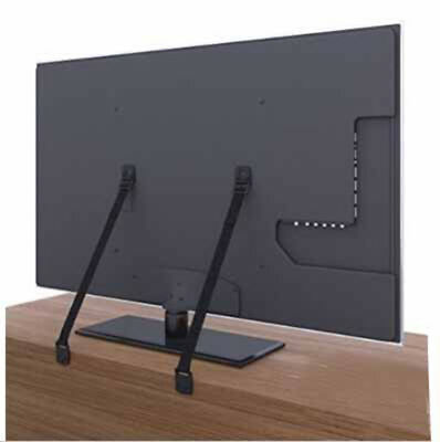 2-Pack All metal anti tip furniture & TV straps for baby-proofing JDUK