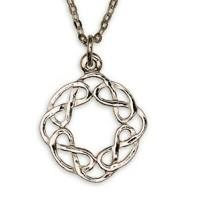 ETERNAL INTERLACE PENDANT LADIES NECKLACE Made in Scotland