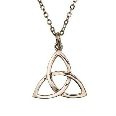 CELTIC KNOT PENDANT NECKLACE Ladies Necklace Made in Scotland from ART PEWTER