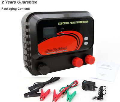 Electric Fence Energiser 2 Joules. Solar/Battery/Mains