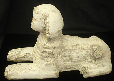 Ancient Egyptian Sphinx Statue Giza Pharaoh Tomb Museum Reproduction