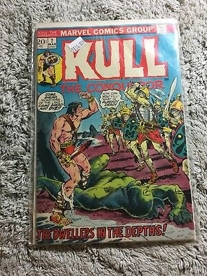 Kull The Conqueror Comic Book #7 Marvel Comics 1972