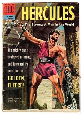 Four Color #1006 Featuring Hercules, Very Good Condition
