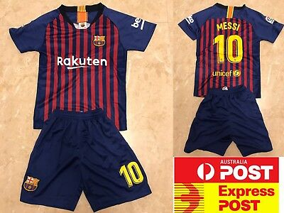 Barcelona Soccer Club #10 Messi jersey set, 2018-2019 new jersey set