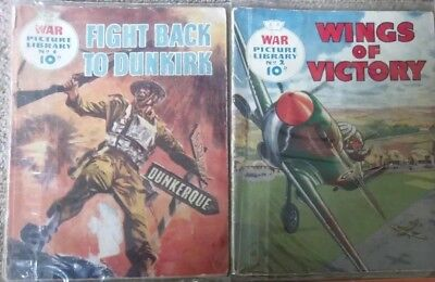 War Picture Library Huge Joblot Collection Numbers Of 144 comics from 1-2013