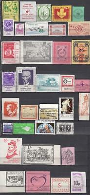 1971 Postal Strike Lot Of 35 stamps All Different All Unmounted Mint Full Gum Lo