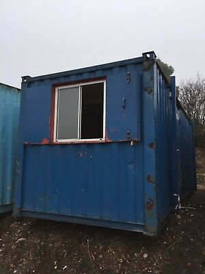 Site Office Cabin Storage Container 20ft Anti Vandal Site Store Lock Up