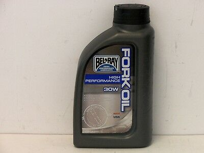 Bel-Ray High Performance Fork Oil 30W 1 Ltr