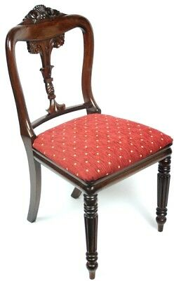 Antique Carved Rosewood Dinning Chair - FREE Shipping [PL4723]