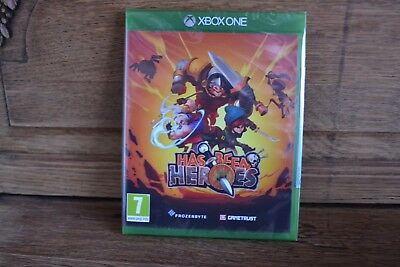 Has been Heroes , has-been heroes , neuf , sous blister , sur Xbox one