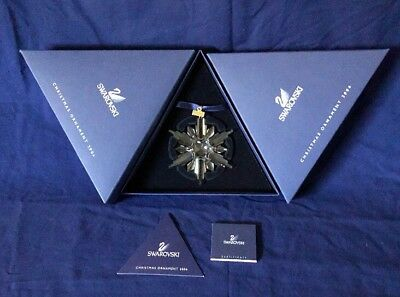 Swarovski Crystal Annual Christmas Snowflake Star 2006 Ornament Mint in Box