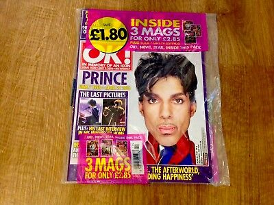 PRINCE OK  MAGAZINE TRIBUTE (ISSUE 1030 MAY 3rd 2016) 17 PAGE FEATURE OF PRINCE