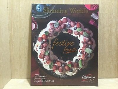 Slimming World Festive Feasts Recipe Cook Book Great Condition