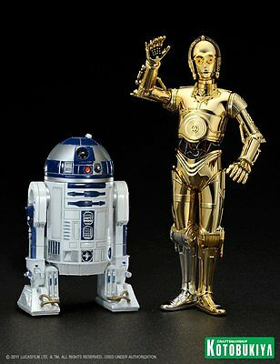 Star Wars - C3PO & R2D2 - 1/10th Scale Figures - Limited Edition - ARTFX