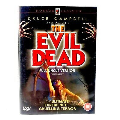 SAM Raimis The Evil Dead Dvd Film Bruce Campbell Movie Watched Once Mint Disc