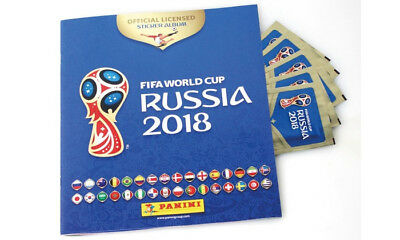 Lot de 10 stickers panini coupe du monde 2018