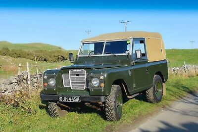 SOLD SUBJECT TO FULL PAYMENT series 3, SWB, 1972, TAX & MOT exempt. 2.25 Diesel.