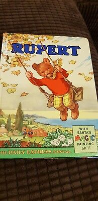 Rupert Bear Annual 1961. Clipped. Good Condition for age