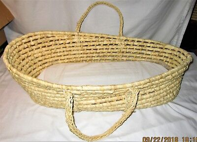 "Badger Basket 32"" X 15"" X 8"" Moses Basket With Mattress"